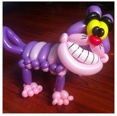 Cheshire Cat balloon