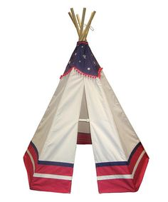 Love this American Teepee on #zulily! #zulilyfinds