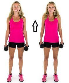 SIMPLE EXERCISES 2 REDUCE BRA BULGE | DUMBBELL SHRUGS | 12 TIMES