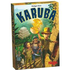 Karuba Board Game from HABA was nominated for the prestigious Game of the Year award. An instant classic family game for ages 8 and up!