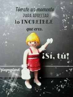 playmyplanet Venga Playmyplanetarios: es VIERNES! Y viene cargadito de autoestima a tope! Feliz día a todos! #felizviernes #autoestima #increible #playmobil