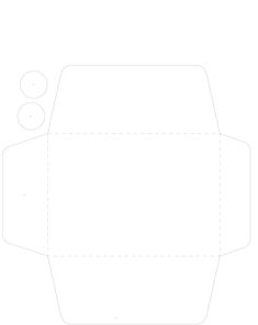 Cómo hacer sobres para tarjetas - Las Manualidades