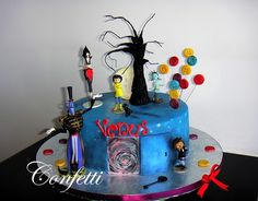 oh my gosh I want a cake like that for my birthday in the new year Book Birthday Parties, Birthday Party Decorations, Birthday Ideas, 3rd Birthday, Pretty Cakes, Beautiful Cakes, Amazing Cakes, Fondant Cakes, Cupcake Cakes