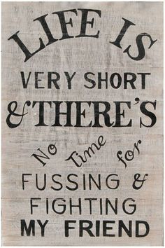 no time for fussing & fighting...need this printed for play room!