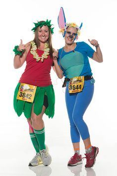 stitch running costume - Google Search