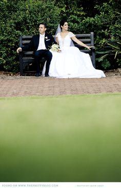 Couple in Botanical Garden