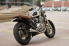 Hey triumph fans i thought you might be interested in the lastest build from my shop Spirit Lake Cycle, a 2001 thunderbird. Triumph 900, Triumph Cafe Racer, Triumph Speed Triple, Triumph Motorcycles, Custom Motorcycles, Custom Bikes, Triumph Thunderbird Sport, Thunderbird Cafe, Triumph Legend