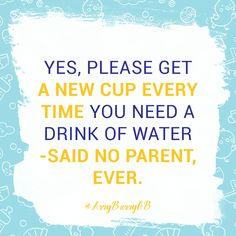 How many cups has your kid gotten the most? Mine is 5! Has your broken this record?