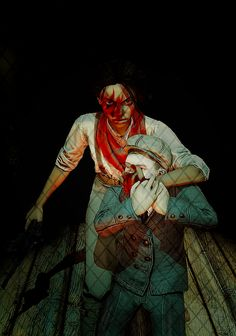 After playing the Burial at Sea pt 2 DLC, this scene took on a whole new meaning. Bioshock Game, Bioshock Series, Vampire Masquerade, Girl Gamer, Videogame Art, V Games, Bioshock Infinite, Dead Space, Sci Fi Horror