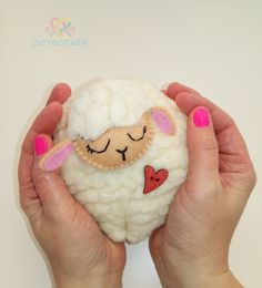 Lovely sheep, just because it's cute. Handmade.