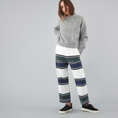 Wood wood trousers at Goodhood store