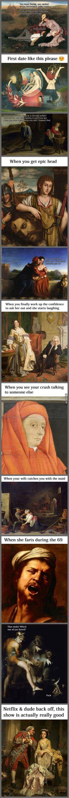Classical Art Memes Latest (Part-22)
