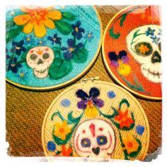 Sugar Skulls by Catherine Stein skittykitty.com