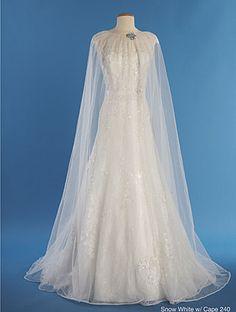 Disney Snow White Wedding Gown | Snow White - 2014 Alfred Angelo Disney's Fairy Tale Wedding Gowns ...