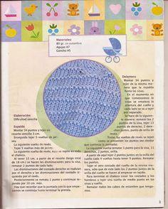 Patrones para crochet y ganchillo. Amiguismos.  Aprende a tejer.