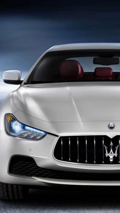 2014 Maserati Ghibli White