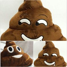 Cushion Emoji Pillow Gift Cute Shits Poop Stuffed Toy Doll Christmas Present Funny Plush Bolster Cojines Pillows Cushions From Wwwonccc's Store | Dhgate.Com