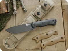 Becker Knife & Tool (Ka-Bar), Short Drop Point-BK16
