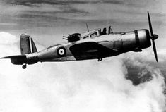 The Blackburn Roc was a British Fleet Air Arm fighter of the second world war. Derived from the Blackburn Skua, the Roc had its armament in a turret. Navy Aircraft, Ww2 Aircraft, Fighter Aircraft, Military Aircraft, Fighter Jets, Drones, Hms Ark Royal, Pilot, Ww2 Planes