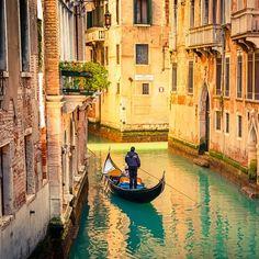 gondel-Venetië-gedicht