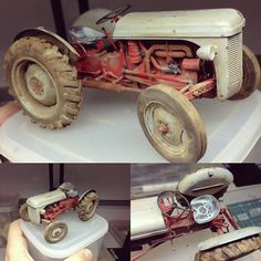 Ferguson Tractor 1/24 Heller. Modeler André Pantarotto #scalemodel #plastimodelismo #miniatura #miniature #maqueta #maquette #modelismo #modelism #hobby #miniatur #plasticmodel #plastimodelo #plastickits #usinadoskits #udk #heller