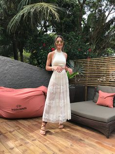 Summer Look – White and See-through