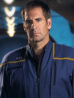 Capt. Jonathan Archer of Star Trek Enterprise. One of my favorite Star Trek series.