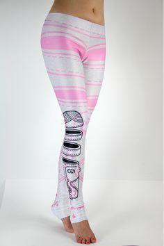 Jednym słowem idealne! #leggins #pink #silver #labelsshop #FRIFRU