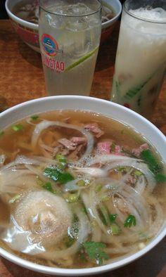 Pho - soupe tonkinoise Pho Dong Huong Belleville, Paris