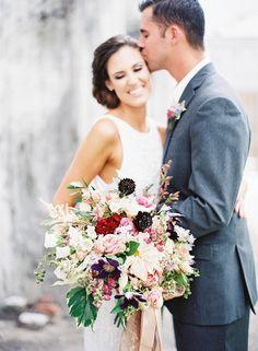 Photography : Marissa Lambert | Floral Design : Kim Starr Wise | Wedding Dress…