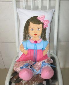 GRACI PINTURAS: Boneca Almofada