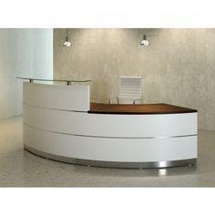 Scene - Curved reception desk 4 - front                                                                                                                                                                                 Más