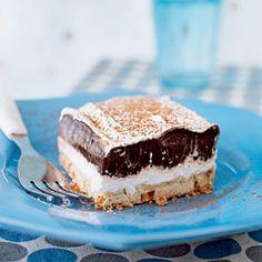 Desert Recipies | Cool, Creamy Chocolate Dessert Recipe | MyRecipes.com