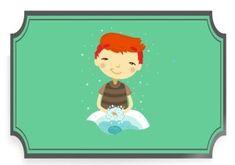 Plan dnia przedszkolaka - obrazki do pobrania - Pani Monia Family Guy, How To Plan, Guys, Baby, Fictional Characters, Boyfriends, Infant, Boys