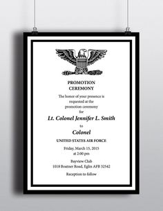 7 Best Military Promotion Reception Images Promotion Ideas