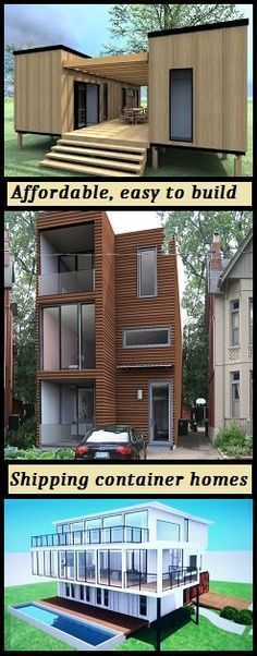 Find all the information you need to design and build your own shipping container home. #shipping #Container #home http://www.thediyhubby.com/how-to-build-a-container-home/