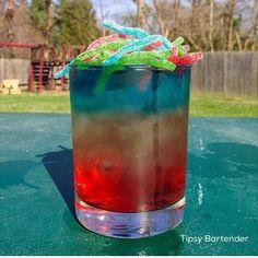 Rainbow Strings Cocktail - TipsyBartender.com