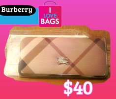 $40 Clutch/Wallet   Bolsa de embrague/Cartera