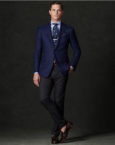 Savile Row Cashmere Blazer - Sport Coats  Suits, Sport Coats, & Trousers - RalphLauren.com