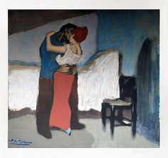 L'etretinte par Pablo Picasso