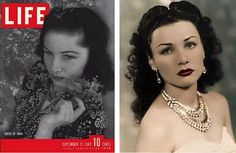 Queen Fawzia of  IRAN, once Princess Fwazia of Egypt      Fawzia married Mohammad Reza Pahlavi in 1939. Pahlavi became Shah of Iran in 1941. Fawzia ,a celebrated beauty, was the daughter Fuad I, King of Egypt. The pair divorced in 1945 (in Egypt) and in 1948 (in Iran). A second wife was procured, another beauty, Soraya Esfandiary, daughter of an Iranian diplomat. Unable to have children the pair divorced in 1951.