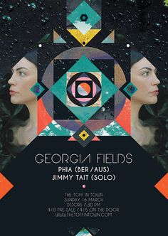 Georgia Fields Show Poster on The Loop