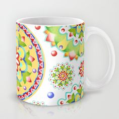 Kristofer's Mandala Mug by #PatriciaSheaDesigns on #Society6