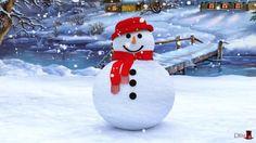3 Boyutlu Kardan Adam Yapalım Çocuk Şarkısı ve Animasyonu