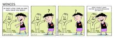 Wences Comic by Arcadio Esquivel , from Costa Rica