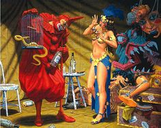 In the Pavilion of the Red Clown Robert Williams