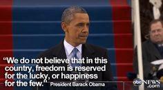 President Barack Obama... Inauguration Day 2013