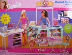 Barbie Donut Shop Playset w Color Change Donuts & MORE! (2002) by Mattel, http://www.amazon.com/dp/B004W8IEZE/ref=cm_sw_r_pi_dp_ytDZrb1ZR4GPD