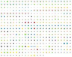 450 Splashy Icons