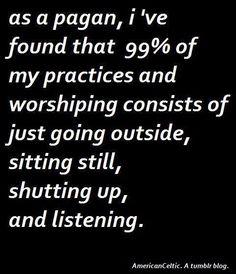 The Creative Spirit: As a Pagan....